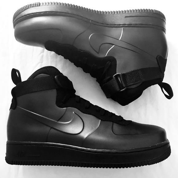 outlet store 3280d 8870c Nike Air Force 1 Foamposite Cup Triple Black